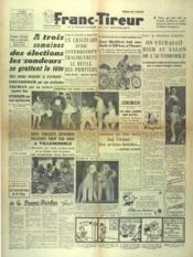Franc Tireur N°2552 du 13/10/1952 - Couverture - Format classique
