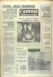 Aurore (L') N°7647 du 02/04/1969 - Couverture - Format classique