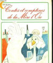 Contes Et Comptines De La Mere L'Oie. Editions Du Chat Perche. - Couverture - Format classique