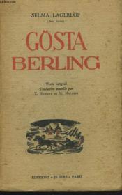 Gösta Berling - Couverture - Format classique