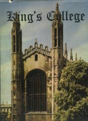 King'S College And It'S Chapel - Couverture - Format classique
