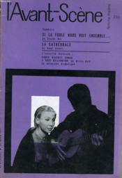 L'AVANT-SCENE - FEMINA-THEATRE N° 216 - SI LA FOULE NOUS VOIT ENSEMBLE... de CLAUDE BAL - Couverture - Format classique
