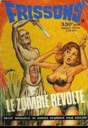 Frissons - La Zombie Revolte - Couverture - Format classique