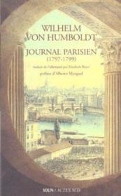 Journal Parisien 1797-1799 - Couverture - Format classique