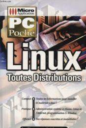 Le pc poche linux - Couverture - Format classique