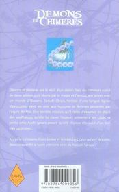 Démons et chimères t.1 - 4ème de couverture - Format classique