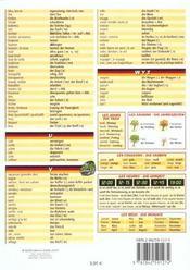 Petit Guide T.94 ; L'Allemand ; Mini Dico ; Francais-Allemand - 4ème de couverture - Format classique