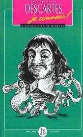 Descartes. Je Connais - Intérieur - Format classique