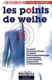 Points De Weihe - Corresp. Homeopathique - Couverture - Format classique