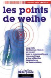 Vente  Points de weihe - corresp. homeopathique  - Daniaud Jean Dr
