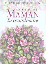 Pour une maman extraordinaire - Intérieur - Format classique