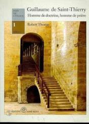 Guillaume De St Thierry Pdc1 - Couverture - Format classique