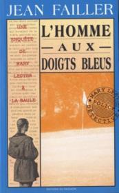 L'homme aux doigts bleus - Couverture - Format classique