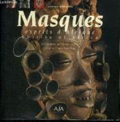 Masques, Esprits D'Afrique - Couverture - Format classique