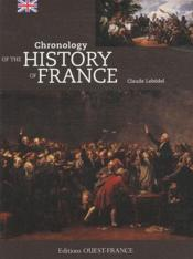 Vente livre :  Chronology of the history of France  - Claude Lebedel