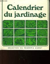 Calendrier Du Jardinage - Couverture - Format classique