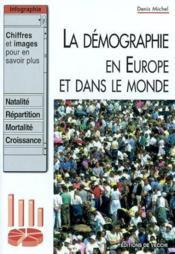 La démographie - Couverture - Format classique