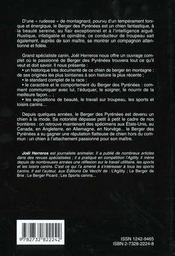 Le Berger Des Pyrenees - 4ème de couverture - Format classique