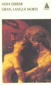 Oran, Langue Morte Babel 505 - Intérieur - Format classique
