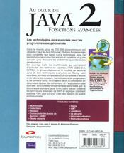 Sunsoft Press Java T.2 - 4ème de couverture - Format classique