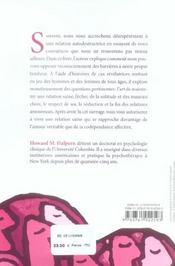Choisir Qui On Aime De La Dependance A L'Autonomie - 4ème de couverture - Format classique