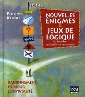 Nouvelles énigmes et jeux de logique t.2 - Intérieur - Format classique