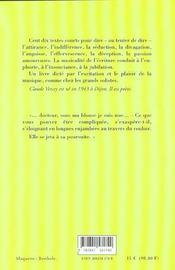 Cent Dix Dits L'Amour - 4ème de couverture - Format classique