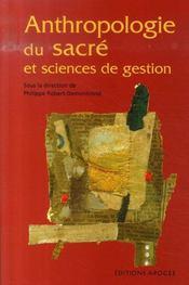 Anthropologie du sacré et sciences de gestion - Intérieur - Format classique