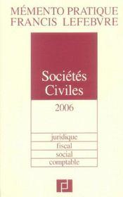 Societes civiles - Intérieur - Format classique