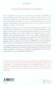 Napoleon Et Son Entourage - 4ème de couverture - Format classique