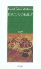 Deuil à chailly - Couverture - Format classique