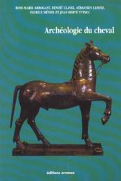 L'archeologie du cheval - Couverture - Format classique
