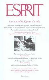 Revue Esprit N.321 ; Les Nouvelles Figures Du Soin - Intérieur - Format classique