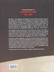 Grandes Pages De La Legion - Kepi Blanc - 4ème de couverture - Format classique