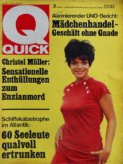 Quick N°9 du 28/02/1968 - Couverture - Format classique