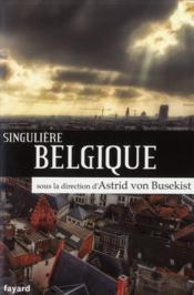 Singulière Belgique - Couverture - Format classique