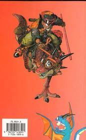 Dragon ball t.16 ; l'héritier - 4ème de couverture - Format classique