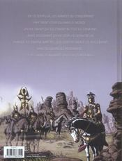 Les armees du conquerant - 4ème de couverture - Format classique