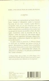 La Maestra Babel 506 - 4ème de couverture - Format classique