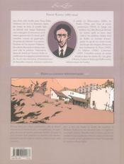 Dans la colonie pénitentiaire - 4ème de couverture - Format classique