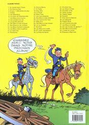Les tuniques bleues t.45 ; émeutes à New York - 4ème de couverture - Format classique