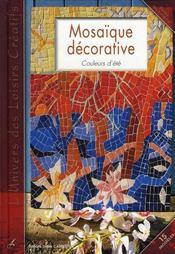 Mosaïque décorative ; couleurs de Provence - Intérieur - Format classique