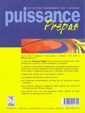 Puissance 9 ; electromagnetisme 2eme annee - 4ème de couverture - Format classique