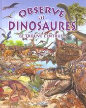Observe les dinosaures et trouve l'intrus... - Intérieur - Format classique