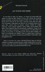 Le Tueur Des Bois - 4ème de couverture - Format classique