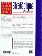 Strategique - 4ème de couverture - Format classique