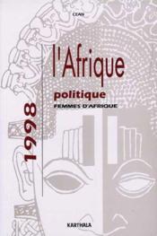 Afrique Politique 1998. Femmes D'Afrique - Couverture - Format classique