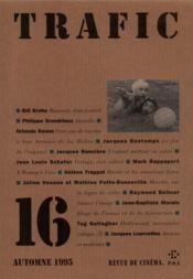 Revue Trafic N.16 - Couverture - Format classique