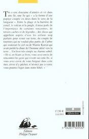 Tio Du Pacifique - 4ème de couverture - Format classique