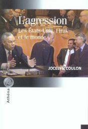 L Agression Les Etats Unis L Irak Et Le Monde - Intérieur - Format classique